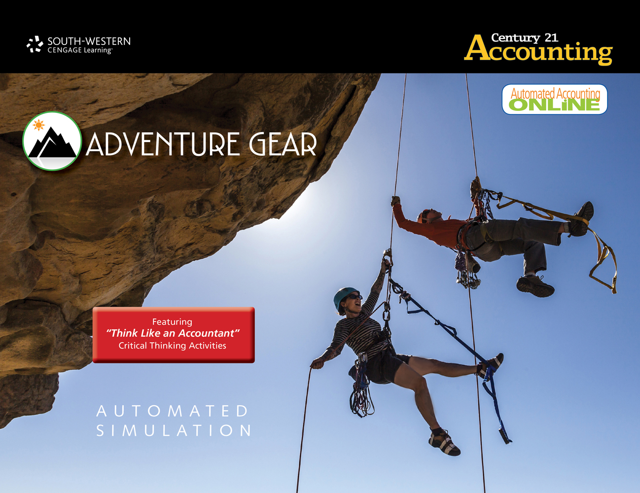 Adventure Gear Automated Simulation with Automated Accounting Online - 9781133588337