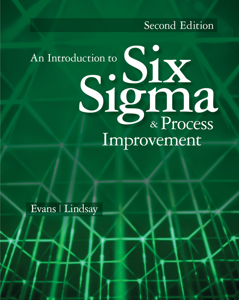 An Introduction to Six Sigma and Process Improvement - 9781133604587