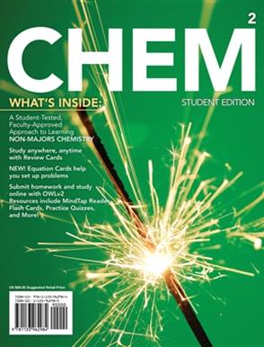 CHEM2 - Buy Textbook   John Hogg   9781133962984   VET   Cengage