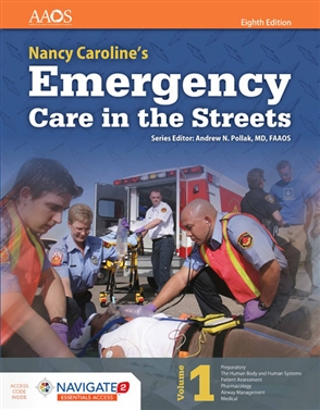 Nancy Caroline's Emergency Care in the Streets (Includes Navigate 2 Essentials Access) - 9781284104882
