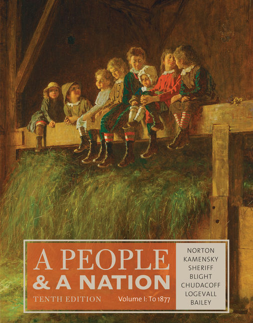 A People and a Nation, Volume I: to 1877 - 9781285430829