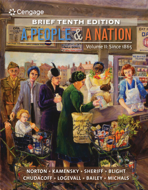 A People and a Nation, Volume II: Since 1865, Brief Edition - 9781285430867