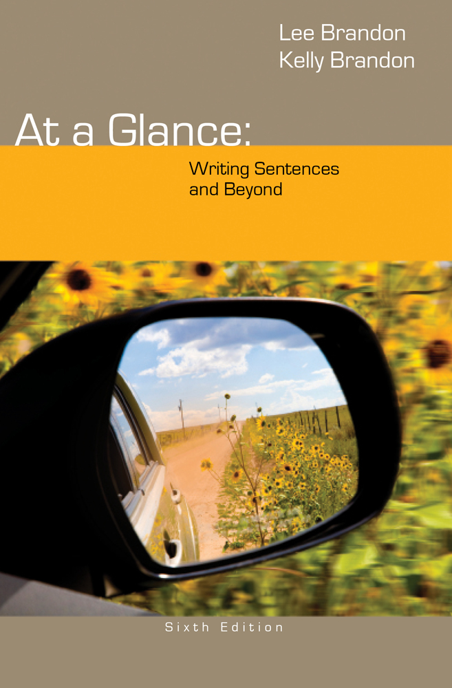 At a Glance: Writing Sentences and Beyond - 9781285444659