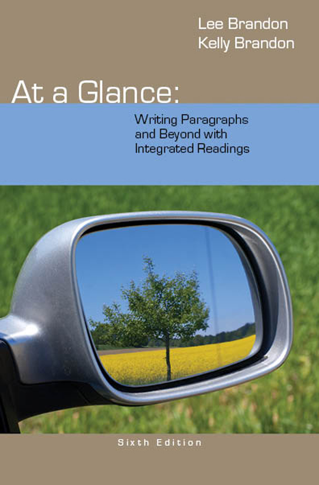 At a Glance: Writing Paragraphs and Beyond, with Integrated Readings - 9781285444680