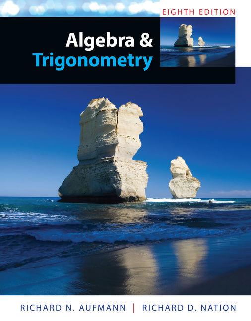 Algebra and Trigonometry - 9781285449425