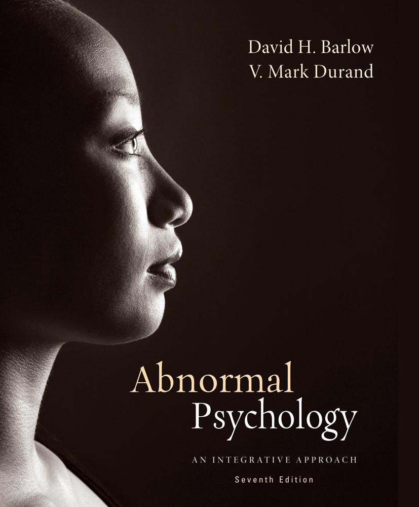 Abnormal Psychology: An Integrative Approach - 9781285755618