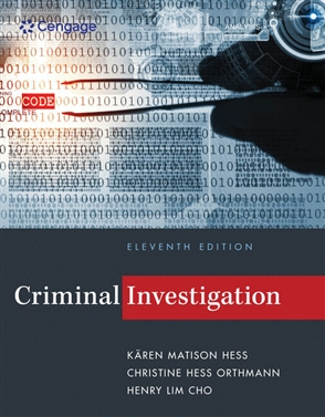 Criminal Investigation - Buy Textbook | Kären Hess