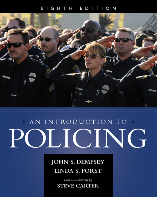 An Introduction to Policing - 9781285862736