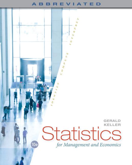 Statistics for Management and Economics, Abbreviated - 9781285869643