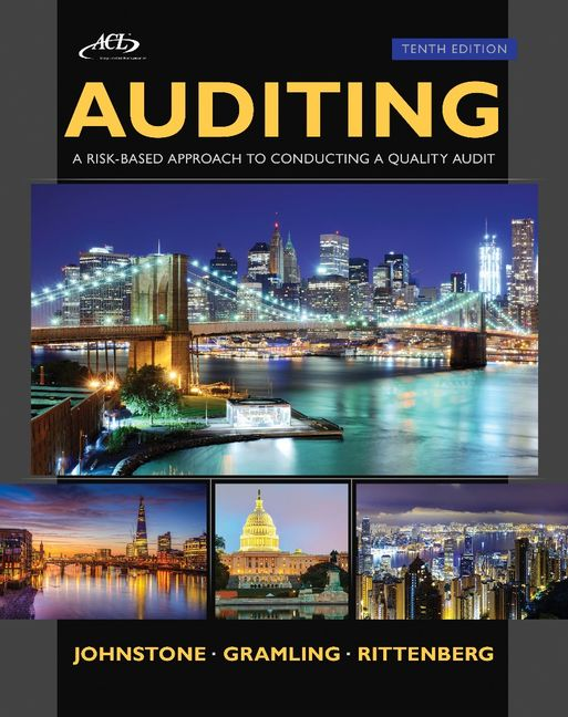 Auditing: A Risk Based-Approach to Conducting a Quality Audit - 9781305080577