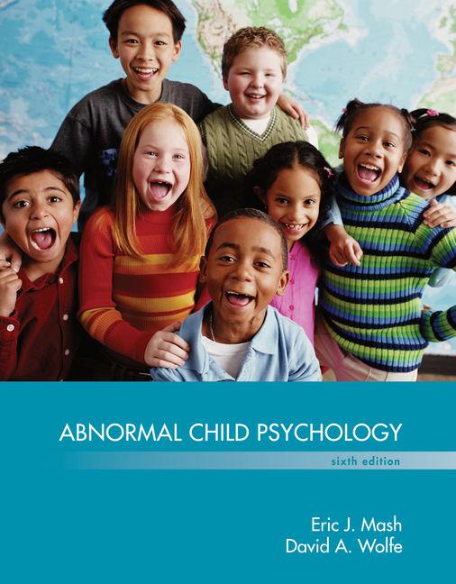 Abnormal Child Psychology - 9781305105423