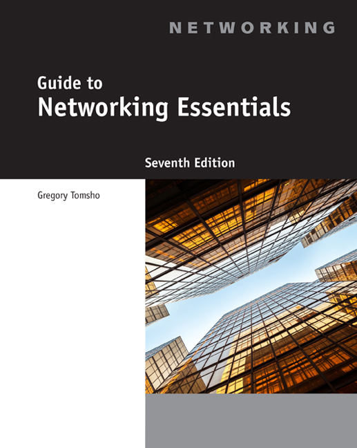 Guide to Networking Essentials - 9781305105430