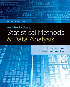 An Introduction to Statistical Methods and Data Analysis - 9781305269477