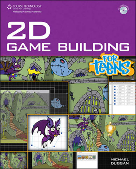 2D Game Building for Teens - 9781305486492