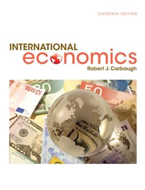 International economics buy textbook robert carbaugh international economics fandeluxe Gallery