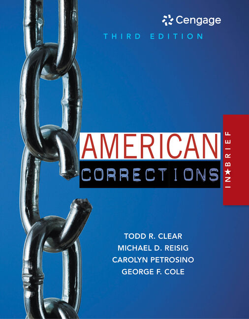 American Corrections in Brief - 9781305633735