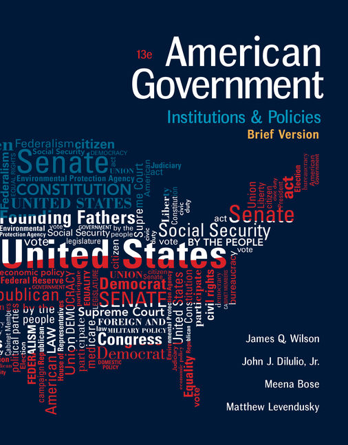 American Government: Institutions and Policies, Brief Version - 9781305956346