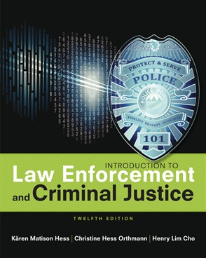 Introduction to Law Enforcement and Criminal Justice - Buy