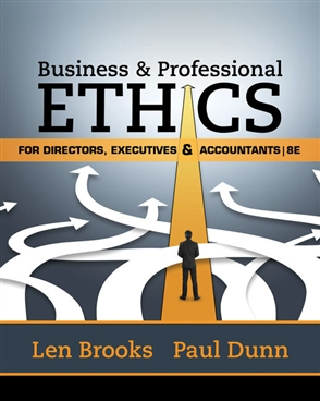 Business & Professional Ethics for Directors, Executives