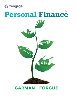 Personal Finance - 9781337099752