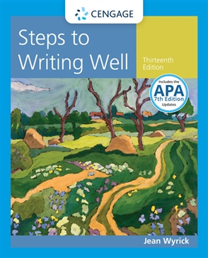 Steps to Writing Well with Additional Readings, 2016 MLA Update - 9781337280945