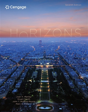 Horizons, Student Edition: Introductory French - 9781337568265