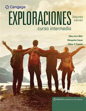 Exploraciones curso intermedio - 9781337612487