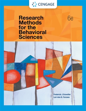 Research Methods for the Behavioral Sciences - Buy Textbook