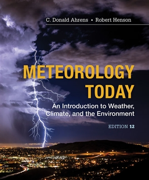 Meteorology Today: An Introduction to Weather, Climate and the Environment - 9781337616669