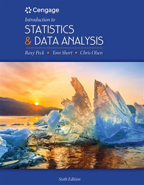 Introduction to Statistics and Data Analysis - Buy Textbook