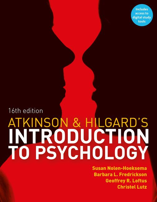 Atkinson & Hilgard's Introduction to Psychology - 9781408089026