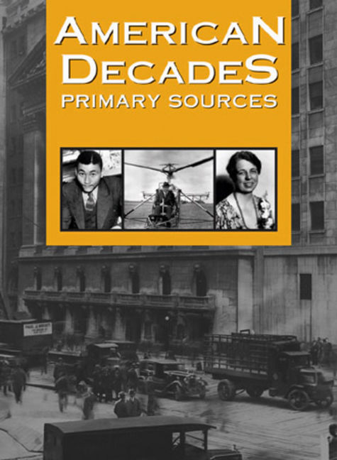 American Decades Primary Sources - 9781414411170