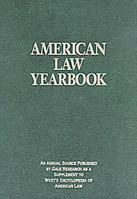 American Law Yearbook: Supplement to West's Encyclopedia of American Law - 9781414463391