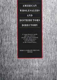 American Wholesalers and Distributors Directory - 9781414482798