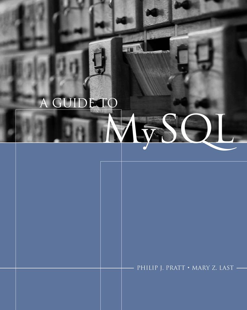 A Guide to MySQL - 9781418836351
