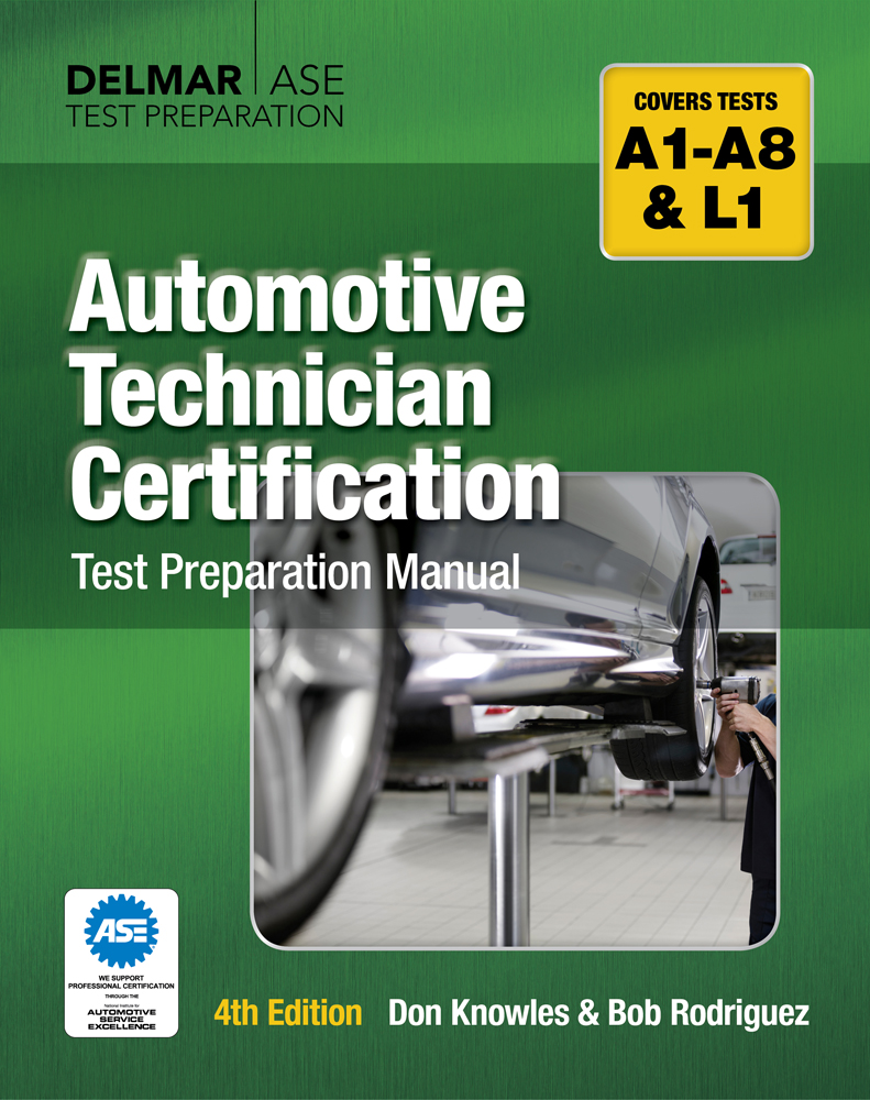 Automotive Technician Certification Test Preparation Manual - 9781428321014