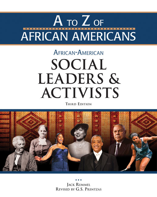 African-American Social Leaders and Activists - 9781438149578