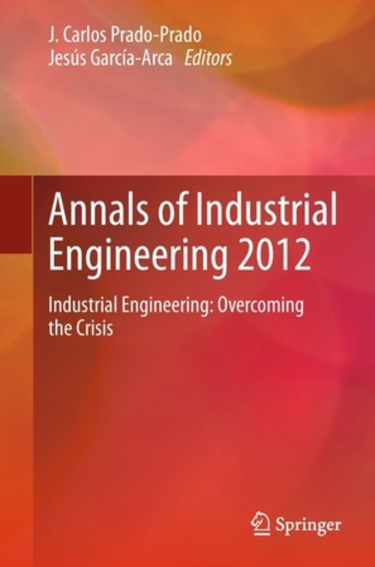 Annals of Industrial Engineering 2012 - 9781447153498