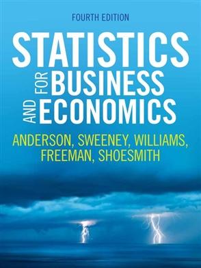 Statistics for Business and Economics - Buy Textbook | David
