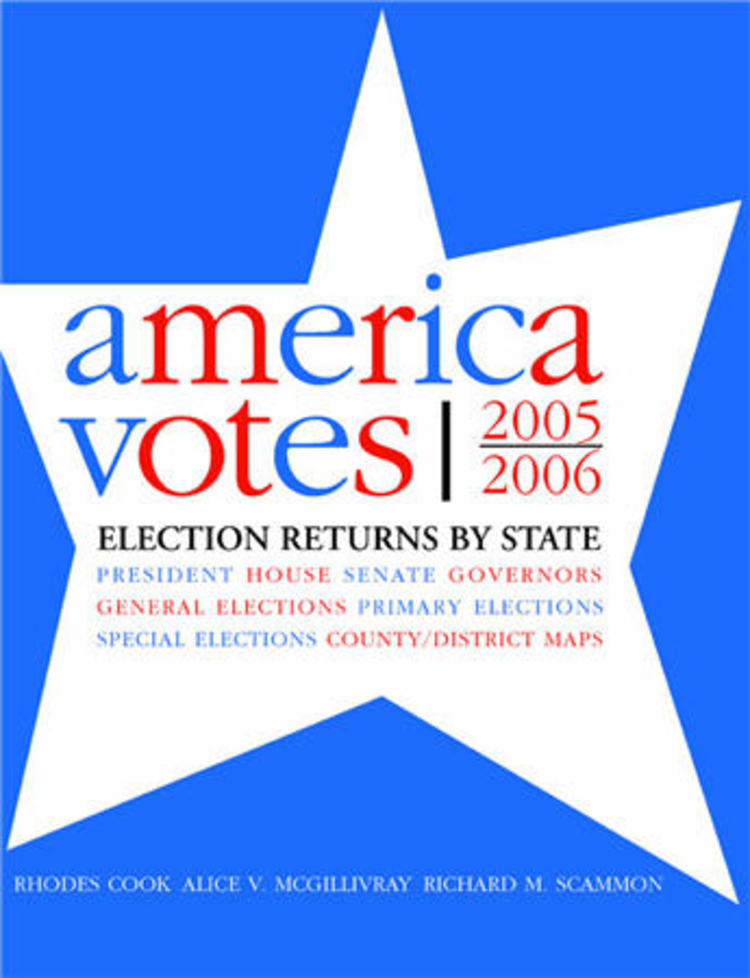 America Votes 2005-2006: Election Returns By State - 9781604267143