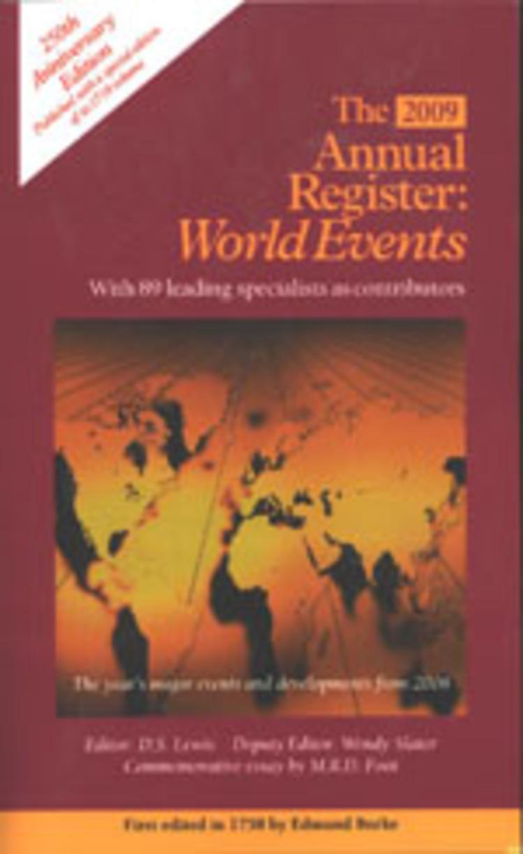 Annual Register - 9781615402496