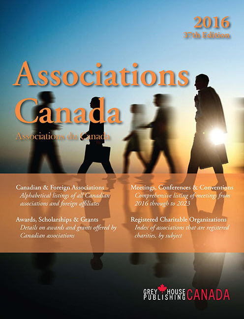 Associations Canada, 2016 - 9781619259584
