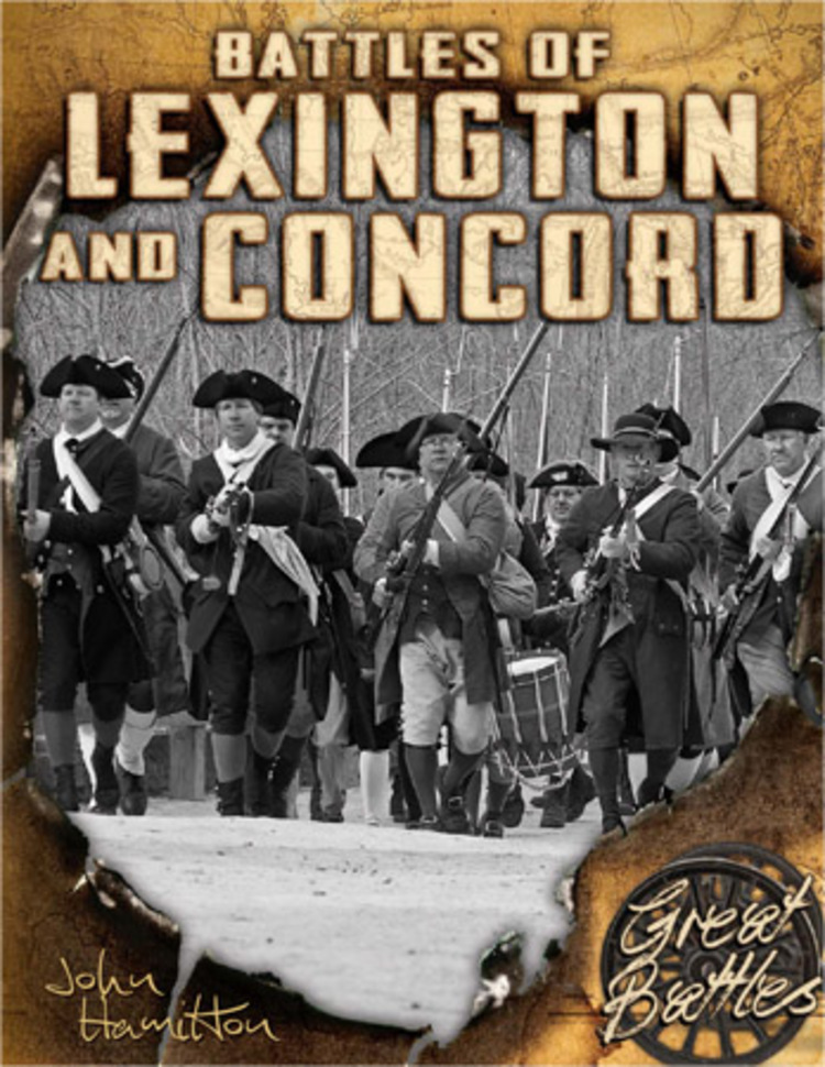 Battles of Lexington and Concord - 9781629680064