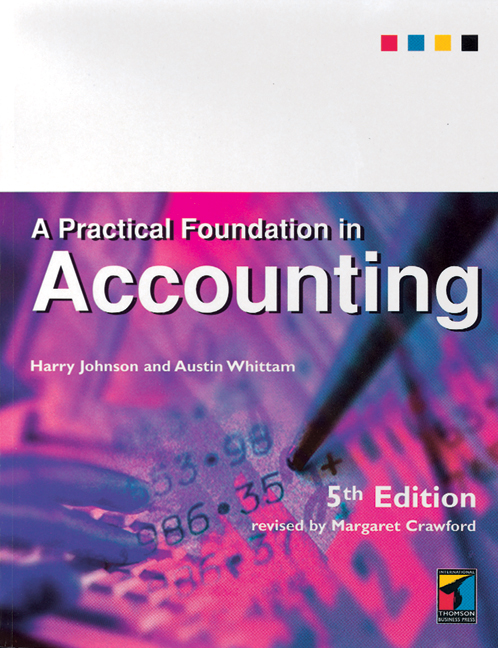 A Practical Foundation in Accounting - 9781861522597