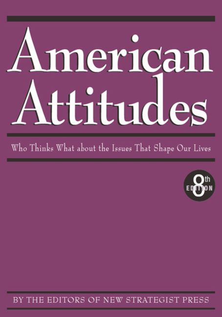 American Attitudes: Who Thinks What about the Issues That Shape Our Lives - 9781885070661