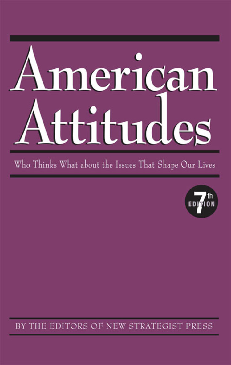 American Attitudes: Who Thinks What about the Issues That Shape Our Lives - 9781940308302