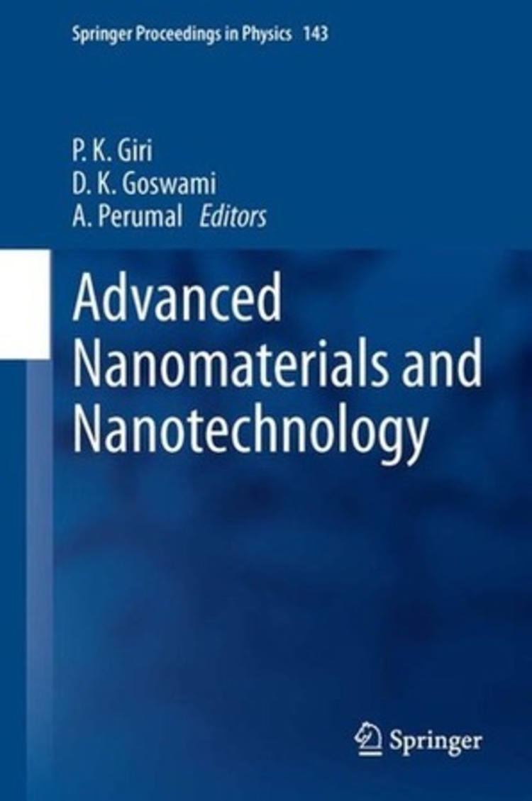 Advanced Nanomaterials and Nanotechnology - 9783642342165