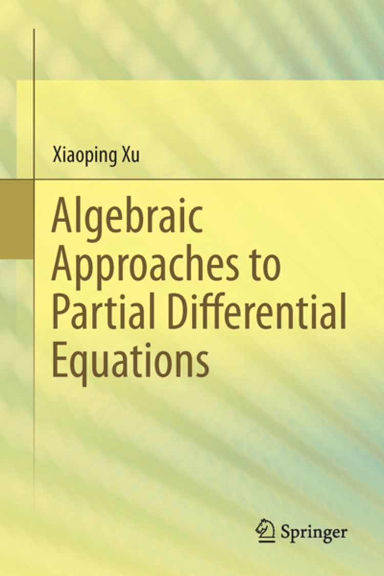 Algebraic Approaches to Partial Differential Equations - 9783642368745
