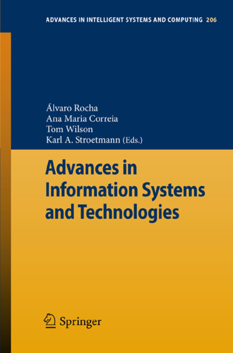 Advances in Information Systems and Technologies - 9783642369810