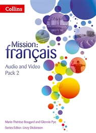 Mission: Français 2 Audio Video Pack - 9780007536511